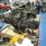 バイクエンジン分解